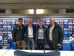 """Beppe Butti in visita al Futbolclub: """"Ottime basi, la società sta crescendo"""""""