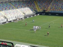 Un super Frosinone nello stadio dei grandi: tris al Lecce