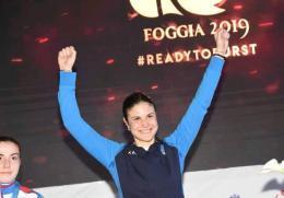 Serena Rossini è magica: oro europeo a Foggia