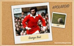 #polaroid: Best e il tunnel più famoso di sempre... a Cruyff