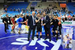 Ghouati miglior giovane, la Roma C5 alza la Coppa Italia