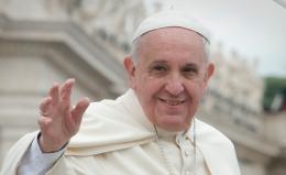 """Papa Francesco in Campidoglio """"Roma sia maestra di accoglienza"""""""