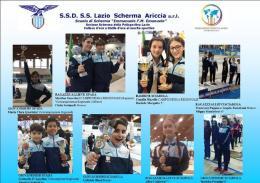 Lazio, Under 14 strepitosa: pieno di medaglie regionali