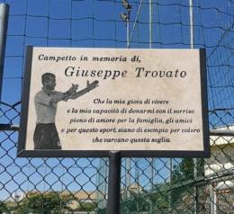 Giuseppe Trovato: organizzato un torneo in sua memoria
