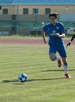 """Atletico Vescovio, Gallani: """"Il calcio per me è tutto"""""""