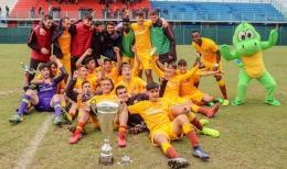E' una Roma formato finali: vinta la Lazio Cup sotto età