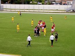 Il Perugia spegne i sogni del Frosinone: umbri al 2° turno