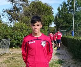 Df Academy, che emozione! Garbinelli in prova al Cagliari