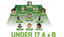 La Top 11: ecco la selezione dei migliori Under 17 Nazionali