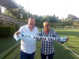 """Signia, Enrico Festa il nuovo ds: """"Facciamo rifiorire il calcio"""""""