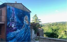 Sant'Angelo, paese delle fiabe: i murales firmati SteReal