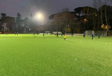 Gli allenamenti del Frascati