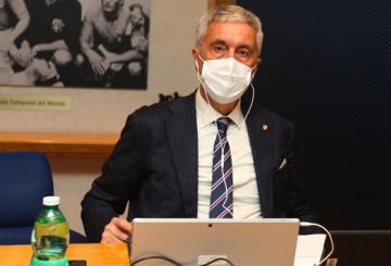 Il Presidente LND Cosimo Sibilia