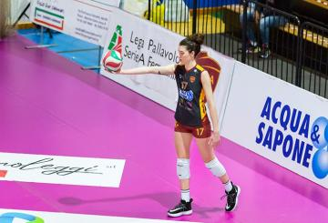 Decortes, opposto della Roma Volley