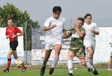 Uno scatto del match odierno (Foto ©Photosportroma)