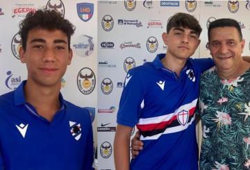Nicu e Mancini con Vincenzo Panico
