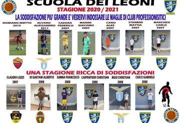 I tredici ragazzi della Scuola dei Leoni passati al professionismo