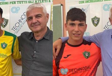 Mohamed Karim Alouan e Leonardo Sozio