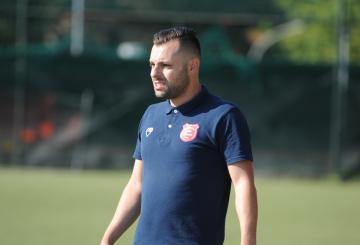 Luca Vasselli, tecnico dell'Atletico 2000 (Foto ©Del Gobbo)