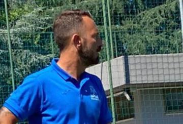 Andrea Simeone, tecnico dello Sporting Montesacro