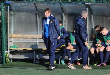 Mauro Valentini, tecnico della Viterbese (Foto ©Del Gobbo)