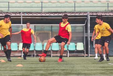 Filippo Pietrini, attaccante della Pro Calcio Tor Sapienza (Foto ©Pro Calcio Tor Sapienza)