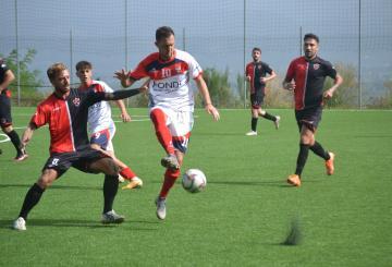 Gianmarco Scacchetti in azione (Ph. Rocca Priora RDP)